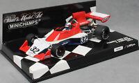 Minichamps Tyrrell Ford 007 Ian Scheckter Formula 1 1975 400750032 1/43 NEW Ltd