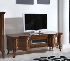 MOBILE PORTA TV IN LEGNO MASSELLO SAGOMATO VARIE FINITURExSOGGIORNO SALA 0040