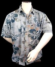 Duke Kahanamoku Men's Hawaiian Shirt Size Large Excellent Vintage Condition