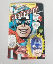 Vintage Captain America Lakeside Game Figure 1981 MoC - Great Artwork