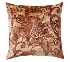"""Pottery Barn Scarlett Velvet Pillow Cover Nwt Size 22"""" Square"""