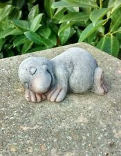 Sleep Mole - Garden Ornament  - Hand Cast