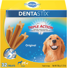 New listing Pedigree Dentastix Treats for Large Dogs 30 lbs Multiple Flavors