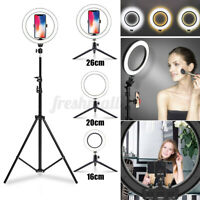 """6.3"""" Selfie Ring Light with Tripod Stand & Cell Phone Holder For Live Stream"""