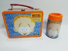 South Park Timmy Metal Lunch Box Thermos Comedy Central 2001 Orange