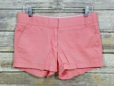 J. Crew Women's Broken In Chino Shorts Pink size 4