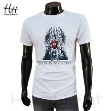 The Big Bang Theory T Shirt Men This Is My Spot A Song Of Ice and Fire Tee Shirt