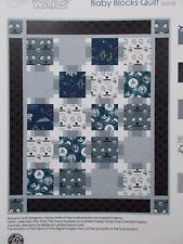 Star Wars Quilt Kit The Force Awakens Baby Blocks Top Camelot Fabrics Cotton