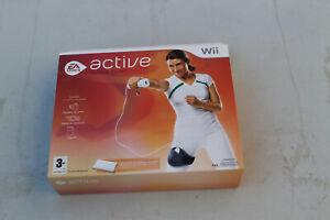 ++ jeu nintendo WII active personal trainer avec jambière NEUF sous blister ++
