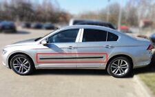 Body Side Mouldings Door Molding Protector Trim 4 pcs Fit VW Passat B8 2015-
