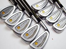 Left-handed 4star Gold HONMA LB-606 9pc R-Flex IRONS SET Golf Clubs 6197