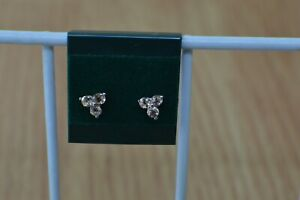 0.50ct Imperial Pink Topaz Earrings Platinum over Fine Silver