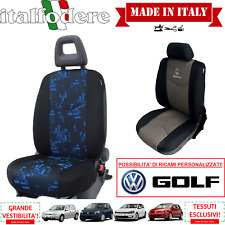 COPPIA COPRISEDILI Specifici Volkswagen GOLF Foderine ANTERIORI GOLF Blu 34