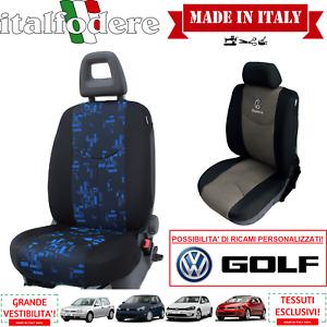COPPIA COPRISEDILI Specifici Volkswagen GOLF Foderine ANTERIORI GOLF Blu 34