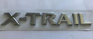 NISSAN X-TRAIL Rear/ Tailgate Badge chrome