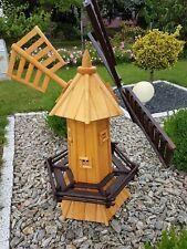 Moulin à vent de jardin décoratif grand 120 cm