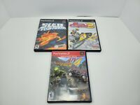 Lot Of (3)- PS2 Racing Style Games Sno Cross 2,Sled Storm And ATV Offroad Fury 4