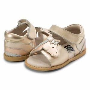 NIB LIVIE & LUCA Shoes Sandas Unicorn Gold Metallic 8 9 10 11 12 13