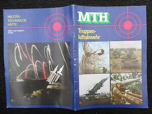 "5588 EAST GERMAN/DDR/GDR Cold War "" NVA magazine MTH AIR DEFENSE TROOP "" cir1989"