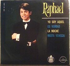 "RAPHAEL : ""YO SOY AQUEL"" 1966 45 RPM E.P. VOL. 3 MEXICO POP EUROVISON ON GAMMA!"