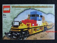 * New * Lego City Train 10170 TTX Double Stack Car Sealed Box ( Very Rare Set )