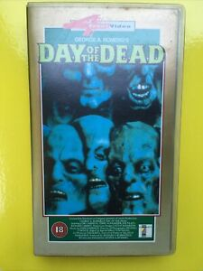 Day Of The Dead: Film 3 By George A. Romero - Horror Masterpiece - Classic - VHS