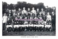 rp13082 - Plymouth Argyle Football Team 1912-13 - photograph