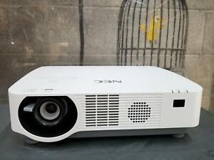 NEC P502HL Projector 2 x HDMI Ports, VGA, Lan, USB, RCA, Halloween! 1401 La: