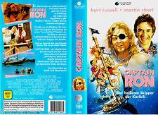 """VHS - """" Captain RON """" (1992) - Kurt Russell - Martin Short"""