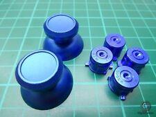 Ps4 controller Button Bottoni MOD Modding PLAYSTATION 4 in alluminio blu