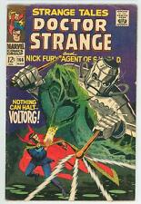 STRANGE TALES 166  5.0 NICK FURY NICE PAGES NOTHING CAN HALT VOLTORG PC