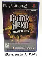 GUITAR HERO GREATEST HITS (PS2) VIDEOGIOCO NUOVO SIGILLATO NEW SEALED PAL