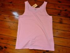 AVELLA Ladies Tank Top Pink Size 16