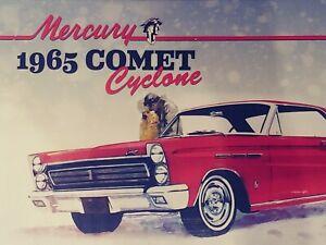 Mercury Comet 1965 Cyclone 1:25 Scale Model Kit - NEW, SEALED!