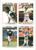 2005 Bazooka 4 on 1 Stickers Baseball Card Pick