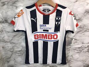 Puma Monterrey Football Club RAYADOS Home Jersey Boys Medium Youth M