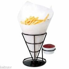 French Fry Stand (Black)