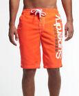 New Mens Superdry Superdry Boardshort Havana Orange