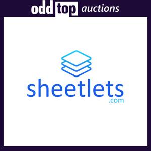 Sheetlets.com - Premium Domain Name For Sale, Dynadot