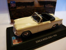 SIM31 voiture altaya IXO 1/43 SIMCA : WEEK-END 1955