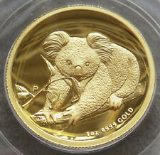 2010 P GOLD AUSTRALIA $100 KOALA HIGH RELIEF COIN PCGS PROOF 69 DCAM 1ST STRIKE