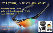 New Car Cycling Riding Driving Bike Polarised Sun Glasses Sports Goggle 5 Lenses
