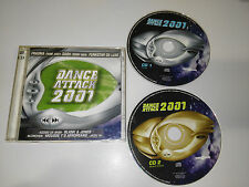 DANCE ATTACK 2001 - 2 X CD HOUSE TECHNO FRAGMA SASH FUNKSTAR DE LUXE