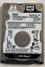 "WD5000LPLX WD BLACK 500GB 7.2K 6Gb/s 32MB Cache 2.5"" SATA Laptop HDD Hard Drive"