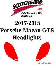 3M Scotchgard Paint Protection Film Pro Series Clear 2017 2018 Porsche Macan GTS