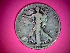 1923-S UNITED STATES WALKING LIBERTY HALF DOLLAR , OLD SILVER COIN, .36169 ASW