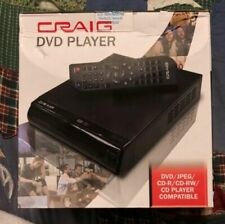 Craig Electronics Compact DVD Player (CVD512A) BRAND-NEW SEALED IN BOX