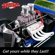 GMP 18865 Blown Altered Drag Engine with Transmission 1:18 NEW!!