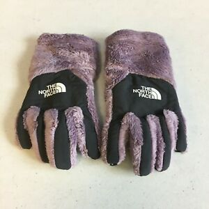 The North Face Girls Purple Osito Etip Glove Fleece Small
