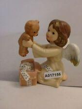 +# A017156_01 Goebel Archiv Muster Engel Angel mit Teddy Bär aus Geschenk 41-195